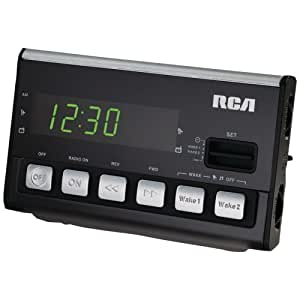 RCA RC50 Voice Activated Alarm Clock (Discontinued by Manufacturer)