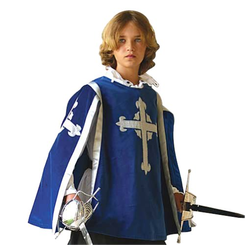 Musketeer Tabard for Children - Boys Knight Halloween Costume ()
