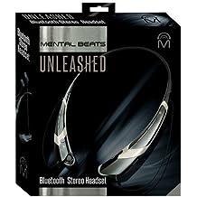 Mental Beats (00543) Unleashed Bluetooth Neckband Headphones; Silver