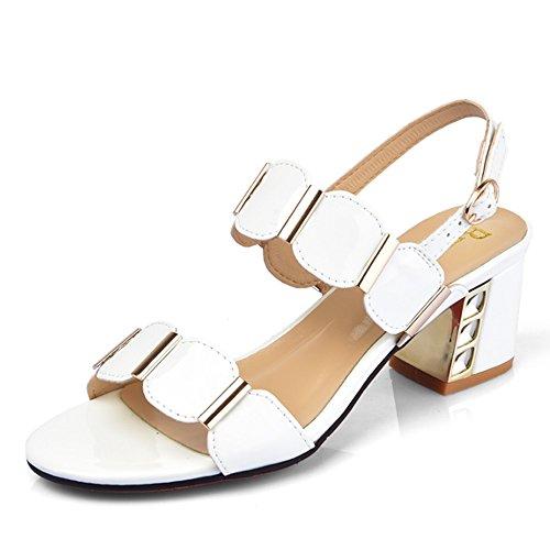 Cómodo Pantuflas femeninas del desgaste de la manera del verano Pantalones Señoras con los deslizadores frescos con las zapatillas En las sandalias (4 colores opcionales) (tamaño opcional) Aumentado ( D
