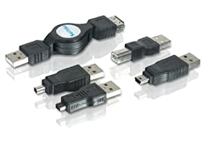 Philips SWR1249/17 Retractable USB 2.0 Adapter Kit