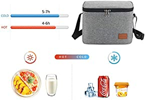 Bolsa Termica Comida Trabajo Porta Alimentos Isotermica Fiambrera ...
