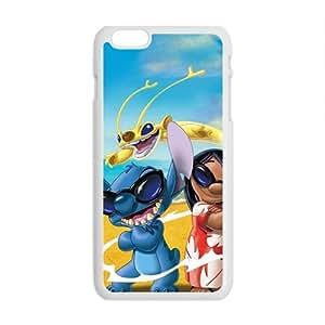 Happy Lilo & Stitch Case Cover For iPhone 6 Plus Case