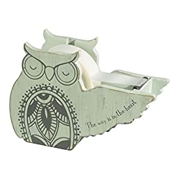 Grasslands Road Decorative Owl Tape Dispenser