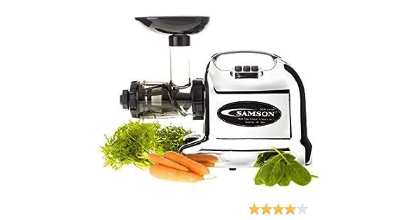 SAMSON GB9006K - Licuadora multifunción, color blanco: Amazon.es ...