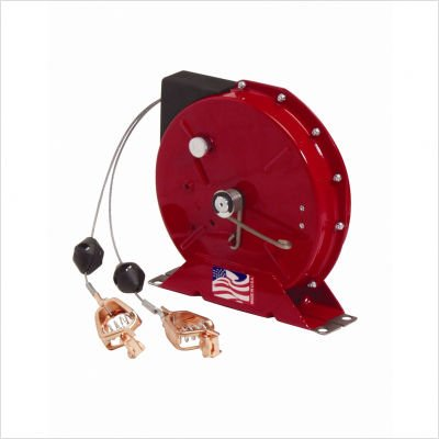 50' Grounding Reel with Dual Cable