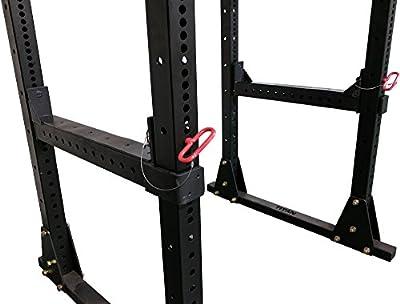 Titan Fitness Flip Down Safety Bars for X-3 Power Racks