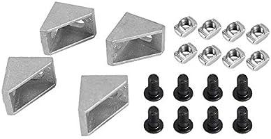 Tiamu Impresora 3D CNC 2020 Perfil Soporte de Tres Esquinas Tuerca ...