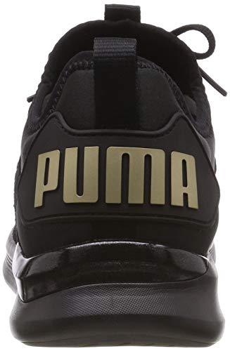 Flash metallic Gold Puma Ignite 01 Damen Schwarz Puma WN's Varsity Black Laufschuhe zxCEvxH6n