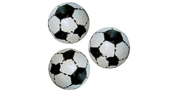idealWigsNet Pelotas de fútbol de Chocolate - 5,5 g Cada una ...