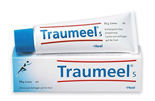 1 Tube 50g Traumeel Homeopathic Ointment Anti-Inflammatory Pain Relief Analgesic | Perfect for joint, back, and muscle ()