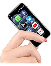 """Mini Smartphone, The World's Smallest Android Mobile Mini Phone, Super Small Micro 2.5"""" Touch Screen 1G+8G Tiny Phone Unlocked Smartphone (White)"""