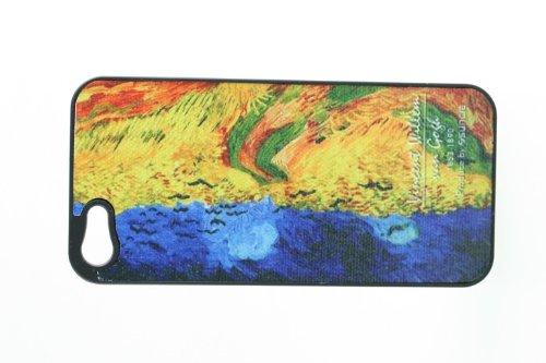 Vincent Willem Van Gogh Terminal Cover Housse de protection Apple iPhone 5 Case mobile au design moderne 4S de téléphone chic élégant art noble moderne