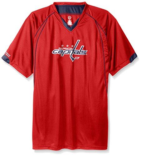 Profile Big & Tall NHL Big and Tall Men's Short Sleeved Birds Eye T-Shirt – DiZiSports Store