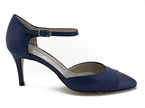 OSVALDO femme pour Blu PERICOLI Escarpins Bleu nxnwvzgUq