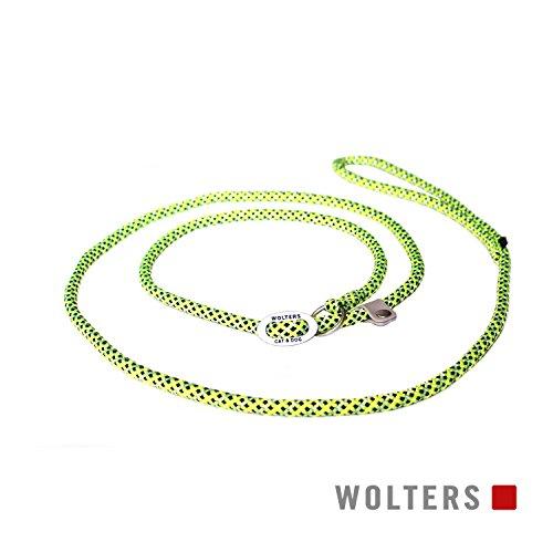Wolters | Moxonleine Everest reflektierend gelb/schwarz | L 180 x B 1,3 cm