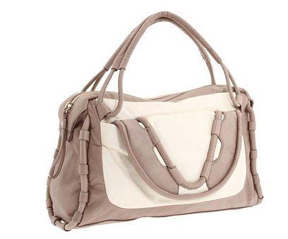 Cynthia Rowley Women's Calloway Satchel Elbow Bag, Light Grey