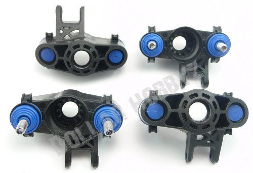 Traxxas NEW Revo 3.3 FRONT & REAR AXLE CARRIERS, PIVOT BALLS, CAPS & DUST BOOT -