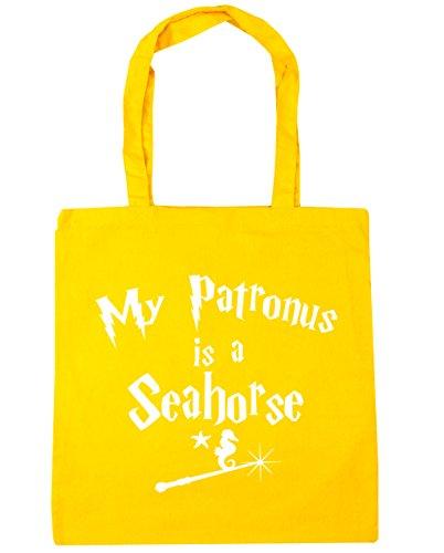 Seahorse Gym My Yellow Patronus HippoWarehouse Shopping Is 42cm Beach x38cm Bag litres Tote A 10 a1IqWwT