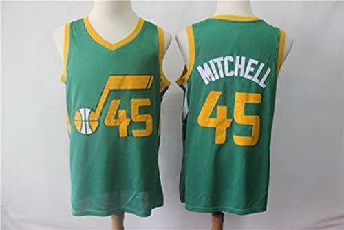 info for 03a5d e2f4a Donovan Mitchell No.45 Utah Jazz Regular City Version Vest ...