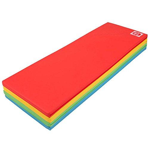 Foldaway Foldable Wide Mat Kids playroom Safe Bumper bed Folding play mat 5Color by JJ COMPANY