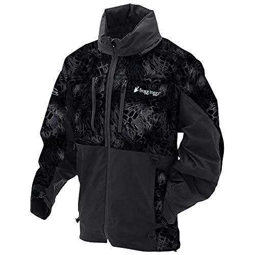 (Frogg Toggs PF63161-7107MD Pilot Series Prym1 Jacket, Blackout, Medium)
