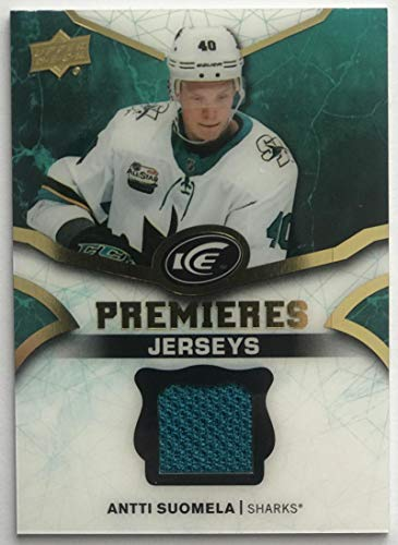 2018-19 Upper Deck Ice Premieres Jerseys Antti Suomela NHL MEM 07702 from Upper Deck