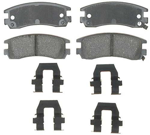 ACDelco 17D698CH Professional Ceramic Rear Disc Brake Pad Set ()