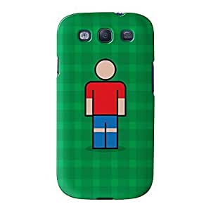 Lille Full Wrap High Quality 3D Printed Case for Samsung? Galaxy S3 by Blunt Football European + FREE Crystal Clear Screen Protector
