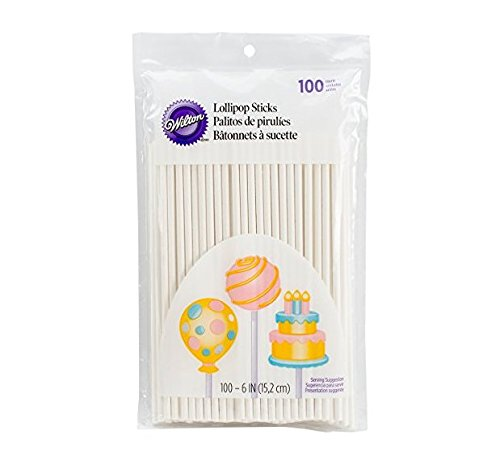 Lollipop sticks, 100 count