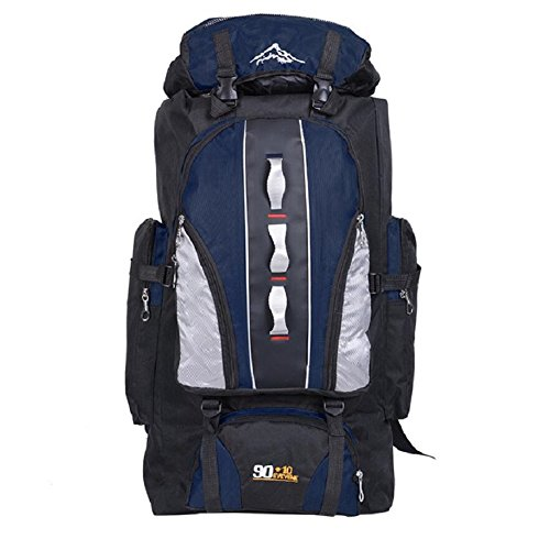 mountaineering mountaineering adjustable amp;J male backpack general Waterproof camping bag hiking outdoor female and quality ZC E nylon backpack multi functional high PBwIxndIf