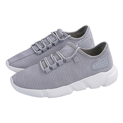 48684f0cc3de Lavoro Estive Casual Sportive Grigio Da Corsa Scarpe Uomo Running Sneakers  Beautyjourney Ginnastica z4pgA