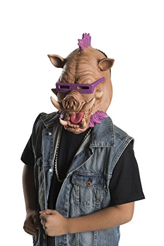 [Rubie's Costume Kids Teenage Mutant Ninja Turtles 2 3/4 Bebop Mask] (1987 Halloween Costumes)