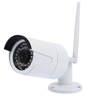 Rosepoem Cámara De Seguridad para Exteriores Cámara Inalámbrica 1080P HD, Cámara De Red Remota De