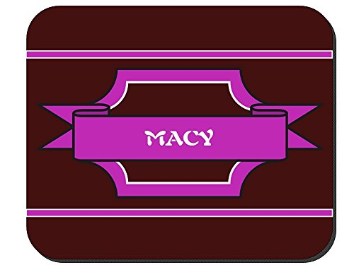 Macy - Girl Name Mouse Pad - Kids Macy