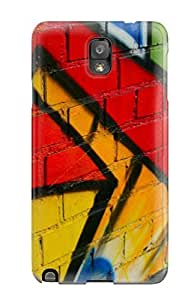 Hot 7349287K80513311 New Arrival Premium Note 3 Case Cover For Galaxy (westren Wallpaint)