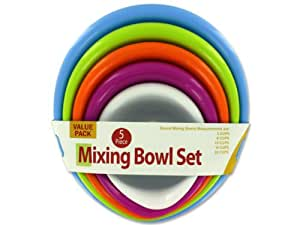 Mixing Bowl Set Of 5 Case Pack 8 - 914807