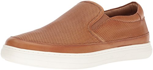 Donald J Pliner Men's Corbyn Sneaker, Saddle, 10.5 Medium US by Donald J Pliner