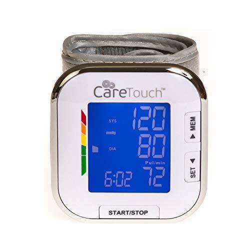 Care Touch Wrist Blood Pressure Cuff Monitor