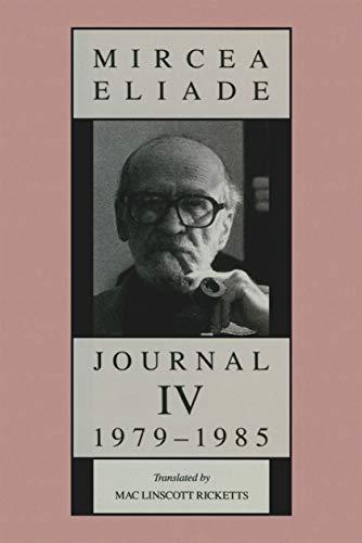 Journal IV, 1979-1985 (English Edition)