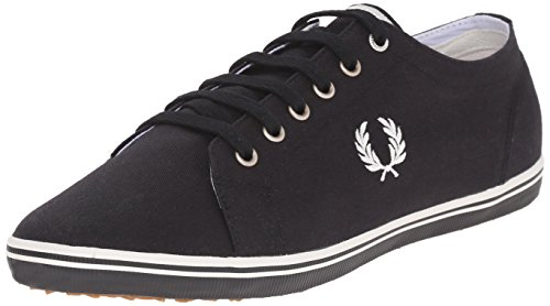 Fred Perry Kingston Twill black b6259u102 Zapatillas de hombre,