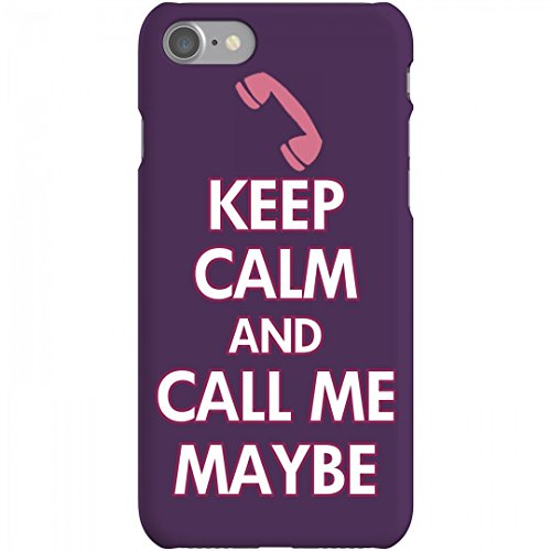 Keep Calm Call Me Maybe: iPhone 7 Slim Fit Snap - Call Mobile Rae