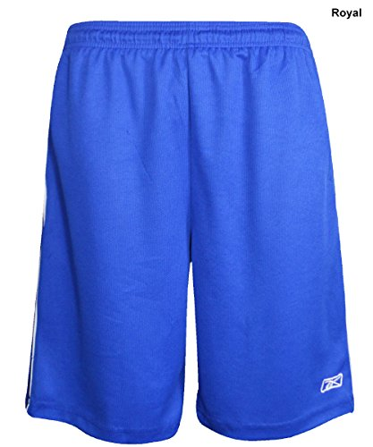 New Reebok- Mens Athletic Performance Shorts Royal Size Extr