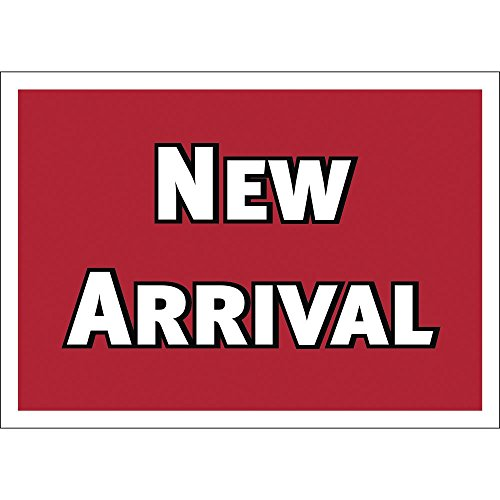 """""""New Arrival"""" Shelf Edge Label Red Imprint Roll of for sale  Delivered anywhere in Canada"""