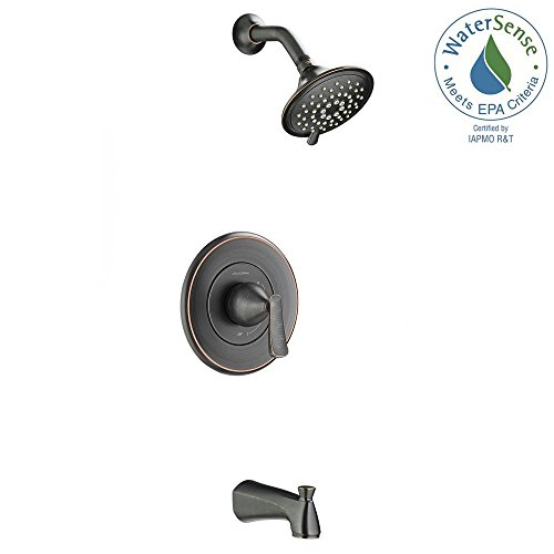 American Standard Chatfield Single-Handle 3-Spray Tub and Shower Faucet in Legacy Bronze Legacy Single Handle Faucet