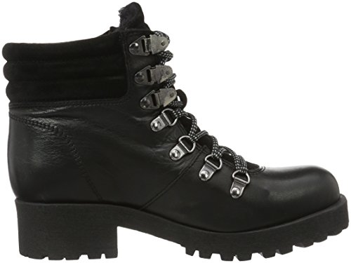 Bianco Warm Skiing Boot Son16, Botines para Mujer Negro - Schwarz (Black/10)