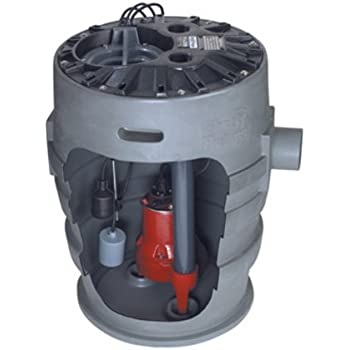 Liberty Pumps P382LE51 1/2-Horse Power 24 by 24-Inch Pro380 Series Simplex Sewage System