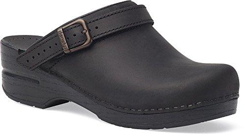 Dansko Womens Clogs & Mules Ingrid Black, Size-42 by Dansko Shoes