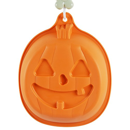 KinHwa Silicone Cake Mold for Baking Non-stick Baking Mold Shapes Easy to Clean Halloween Pumpkin Cake Pan Bakeware 3D by KinHwa (Image #5)