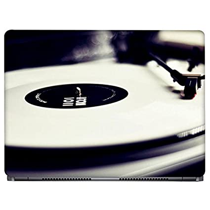 Crazyink Old Music Player Laptop Skin Stickers - 13 To 14